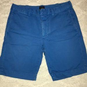 J. Crew Men's Stanton Shorts- Royal Blue